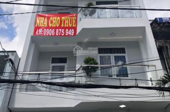 Cho thuê nhà nguyên căn mới xây 100% ngay vòng xoay Lý Thái Tổ, quận 3