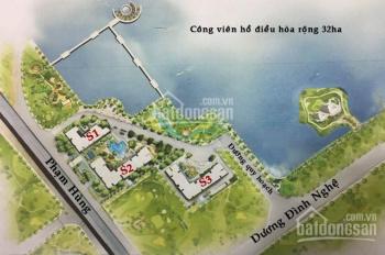 Thu hồi vốn bán cắt lỗ CC Vinhome Sky Lake, DT 64m2 - 76m2 - 108m2 - 139m2, 47tr/m2, LH 0968822071