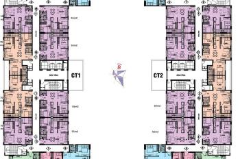 Cần bán căn hộ chung cư 987 Tam Trinh, @Home, căn 011, DT: 55m2, tòa CT1, 980tr/căn. 0934568193