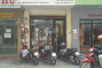 Bán nhà mặt tiền Nguyễn Phi Khanh, P. Tân Định, Q. 1, DTCN 45,5m2, trệt + lửng + 3 lầu. Giá 14.5 tỷ