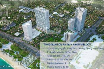 Tặng ngay 1 chuyến du lịch thành phố Quy Nhơn 3N2Đ khi mua căn hộ Quy Nhơn Melody. LH 0935436677