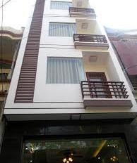 Siêu phẩm tòa nhà building mặt tiền Trường Sa, Q3 DT 8.35x10m 7 lầu thang máy