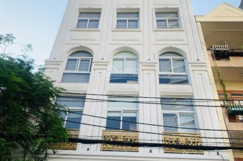 Bán gấp nhà mặt tiền Nguyễn Trọng Tuyển, P. 8, Phú Nhuận, DT 9,6x33m nở hậu 14m CN 360m2, giá 64 tỷ