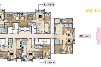Chị Linh bán nhanh căn hộ tầng 1004 DT 93m2 CC Báo Nhân Dân, giá 21tr/m2. LH 0904999135