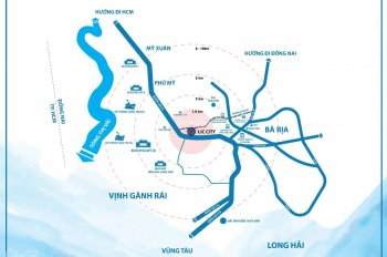 Bán đất nền thị xã Phú Mỹ - gần cụm cảng Cái Mép giá chỉ 800tr
