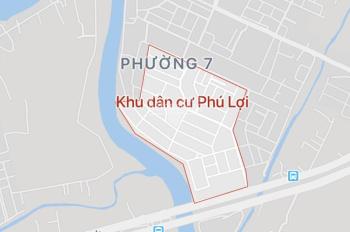 Cần bán gấp nền đất A17 KDC Phú Lợi, giá rẻ, chỉ 31 tr/m2, DT: 110m2, LH: 0934 149 391