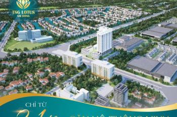Sở hữu căn hộ smarthome 2PN+1, CK 3%, hỗ trợ vay 70%, miễn lãi 0% view Vinhomes tại KĐT Sài Đồng