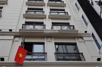 Bán tòa nhà mặt phố Lò Đúc, Phan Chu Trinh, 75 tỷ, 150m2 x 8T, căn góc đẹp, đoạn sầm uất nhất phố