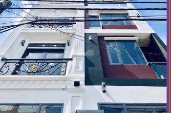 Nhà MT đường Nguyễn Hữu Cảnh trệt 4 lầu 4x11m
