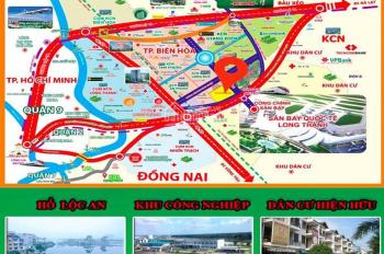 Bán đất MT - QL 51 gần TT hành chính Long Thành, SHR, thổ cư 100% cam kết lợi nhuận, giá 6.2 tr/m2