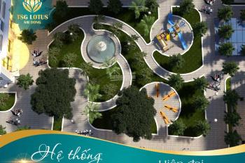 Chung cư TSG Lotus Sài Đồng, giá chỉ từ 25 triệu/m2, chọn căn tầng đẹp. LH 093.233.9698