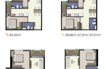 Chỉ 650tr sở hữu cần hộ 2PN 2WC, 67,61m2 tại Q.7 dự án Q7 Sài Gòn Riverside, khu phức hợp cao cấp