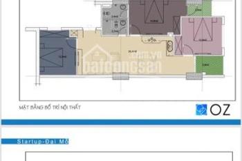Em có căn duy nhất 91,8m2 chỉ bán giá 1ty5 chung cư Startup Tower, thấp hơn cđt bán hiện tại