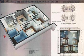 Bán các căn hộ 2 pn + 3 pn dự án CT1 Yên Nghĩa, giá chỉ 11tr/m2, kí HĐ trực tiếp với CĐT