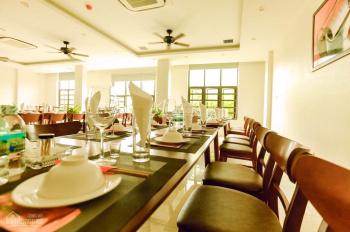 Cho thuê mặt phố Nguyễn Thái Học, Ba Đình, dt 250m2* mt 12m. xây dựng 85m2* 2 tầng, kinh doanh