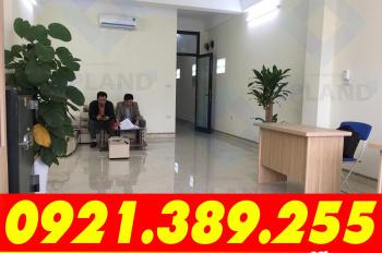 Văn phòng 35m2 - 55m2 tòa nhà VP 8 tầng mặt tiền 12m, full DV tại Trung Kính, Yên Hòa 0921.389.255