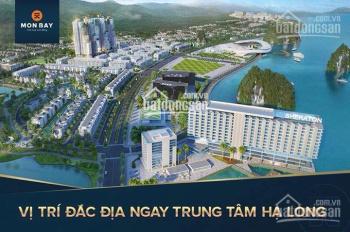 Chính chủ cần bán liền kề Mon Bay, hướng Đông Bắc, diện tích 120m2 đất, xây 5,5 tầng, LH 0988605656