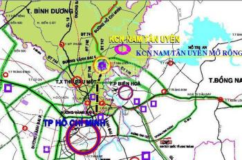 Khách hàng chỉ cần tài chính 400tr, có ngay lô đất 100m2 ngay KCN Nam Tân Uyên, SHR. LH 0938434950