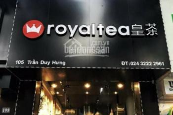 Cho thuê mặt phố chính chủ đường Nguyễn Phong Sắc. Diện tích 50m2 x 4,5 tầng, mặt tiền 4m, hè rộng