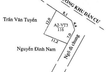 Bán đất biệt thự trục đường chính thôn Trà Khê, (116m2). Chính chủ