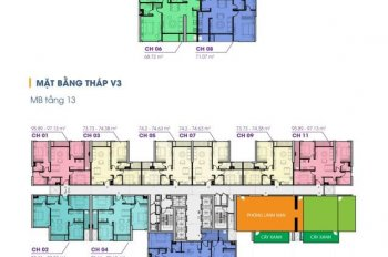 Bán căn ngoại giao dự án Terra An Hưng, tầng 15, căn 74m/2pn, 22tr/m view công viên thiên văn học
