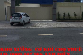Cho thuê xưởng (mới xây dựng) Trần Đại Nghĩa, Trần Văn Giàu (500; 600; 800; 1.000m2) 60 nghìn/m2