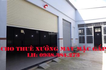 Cần cho thuê xưởng (gấp) khu vực: Vĩnh Lộc, Võ Văn Vân, Kênh Trung Ương (500; 600; 800; 1.000m2)
