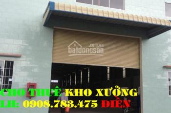 Cho thuê: 3 nhà xưởng (160m2 - 200m2 - 300m2) đường Ao Đôi