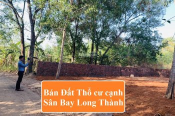 Đất xã Bàu Cạn, sân bay Long Thành 1km, DT 5x21m full thổ cư, chính chủ bán, sổ riêng LH 0975439739