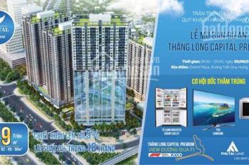 Mở bán cực sốc bốc quà siêu độc - chung cư Thăng Long Capital Premium