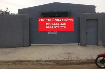 Cho thuê nhà xưởng Phường An Phú Đông, Quận 12, DT: 800m2, giá 25 tr/tháng, LH 0944.977.229