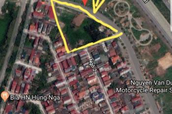 Cần tiền bán gấp mảnh đất mặt đường to đẹp tại Thôn Tàm Xá, Xuân Canh, Đông Anh.Lh 0968834477