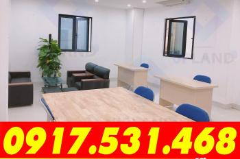 Văn phòng 35m2 - 55m2 tòa nhà VP 8 tầng mặt tiền 12m, full DV tại Trung Kính, Yên Hòa 0964.05.2828