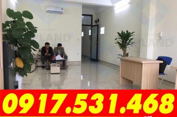 Cho thuê VP 35m2 - 50m2, tòa VP mới xây tại 15 Trần Kim Xuyến, giá 6.3 triệu/th. LH: 0917.531.468
