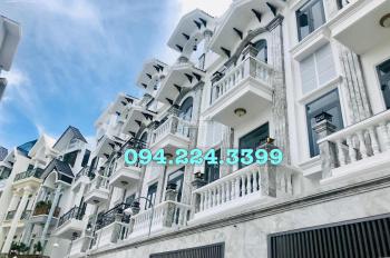 Siêu mẫu Vũ Hoàng Việt bán cặp biệt thự Cityland VIP rẻ 1 Gò Vấp, 4.3 x 14m, đúc 4 lầu 0942243399
