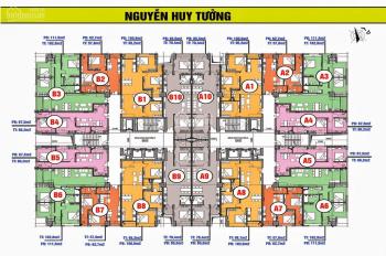 Bán gấp căn hộ 3PN, 102m2 chung cư Mỹ Sơn Tower, giá bán 26 triệu/m2. LH: 0904999135