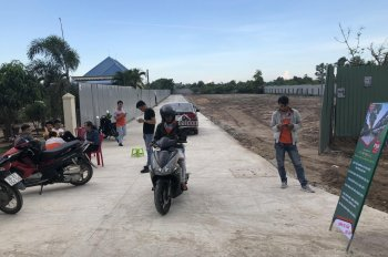 Bán đất MT đường Võ Văn Kiệt, Phước Hội, Đất Đỏ, BRVT, SHR, 100% TC, LH 0908529984