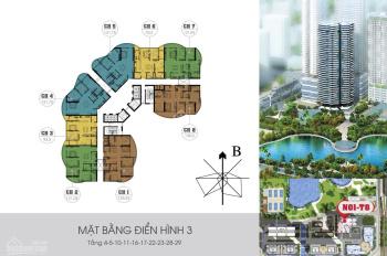 Cho thuê căn hộ 07 tòa N01T8 khu Ngoại Giao Đoàn, Xuân Tảo, Bắc Từ Liêm, HN