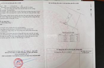 Bán đất thổ cư hẻm Đoàn Nguyễn Tuấn, xã Hưng Long, Bình Chánh