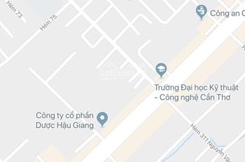 Bán 120m2 đất trung tâm, hẻm 188 - Nguyễn Văn Cừ - P. An Hòa - sau công an quận Ninh kiều