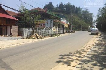 Bán lô đất đẹp thị trấn Sapa, đường đi lên Thác Bạc