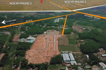 Cơ hội đầu tư vàng 30 nền ngoại giao KĐT trung tâm Bến Cát , 60m2 giá 8 tr/m2. 0985191168 ( QLDA)