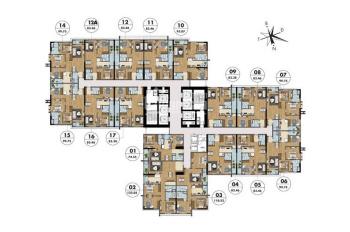 Cần bán gấp căn góc 3PN giá tốt nhất thị trường Goldmark City, LH 0968842516