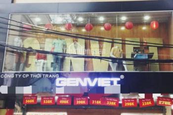 Cho thuê cửa hàng mặt phố vị trí cực đẹp phố Tràng Thi, diện tích 80m2, mặt tiền 8m