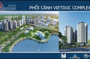 Cho thuê 950m2 sàn thương mại dự án chung cư Việt Đức Complex số 39 Lê Văn Lương - Thanh Xuân