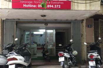 Cho thuê mặt sàn Thái Hà để kinh doanh, 35m2, 5.5 triệu/th, ngõ rộng, khu trung tâm sầm uất