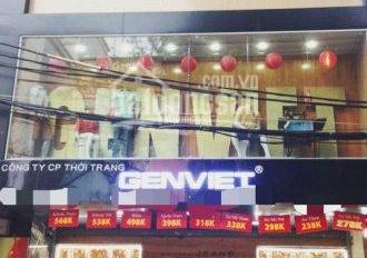 Cho thuê cửa hàng mặt phố vị trí cực đẹp phố Hàm Long, diện tích 80m2 * 1,5 tầng, mặt tiền 5.5m