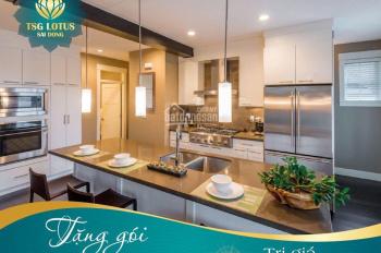 Mở bán đợt 1 chung cư cao cấp TSG Lotus Sài Đồng, giá gốc CĐT, CK ngay 3%