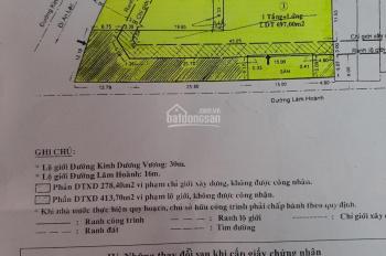 Nhà 2MT Kinh Dương Vương, Q.Bình Tân. 18x60m. 1 lầu