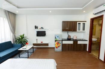 Cho thuê chung cư đủ đồ, 6.5tr/th, nội thất mới, ô tô đỗ cửa, ở Trần Quốc Hoàn, gần đại học Sư Phạm